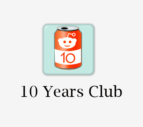 10 Years Reddit Club Account for sale